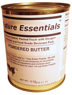 Future Essentials Powdered Butter * Find out more details by clicking the image : Fresh Groceries No Bake Desserts, Dessert Recipes, Baking Desserts, Powdered Eggs, Sweet Notes, Baking Ingredients, Food Grade, Healthy Drinks, Cookie Dough