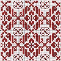 Cute Cross Stitch, Cross Stitch Flowers, Cross Stitch Designs, Cross Stitch Patterns, Blackwork Embroidery, Cross Stitch Embroidery, Hand Embroidery, Crochet Stitches Patterns, Embroidery Patterns