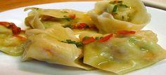 Ravioli al vapore con verdure mediterranee | Ricette A Vapore, Mediterranee