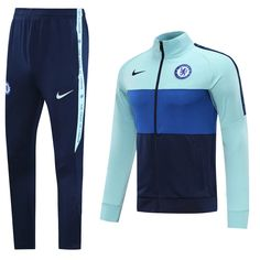 Chelsea 20/21 Blue(Player edition) Men Jacket Tracksuit Slim Fit – zorrojersey Chelsea Nike, Fc Chelsea, Tracksuit Pants, Football, Casual Tops, Jogging, Sportswear, Sweatshirts, Jackets