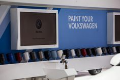 Paint Your Volkswagen display at #NYIAS