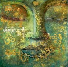 """""""All that we are is the result of what we have thought. The mind is everything. What we think we become."""" ~ Buddha Budha Art - Buddha by Jolanta Shiloni"""