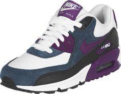 Nike Air Max 90 W schoenen wit blauw lila