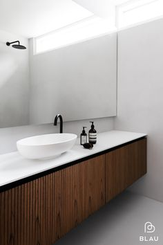 8 Cheap Things to Maximize a Small Bedroom / sneak peek / My latest residential project photographed by with bathroom fixtures. Bathroom Spa, Wood Bathroom, Bathroom Fixtures, Bathroom Furniture, Helsinki, Large Bathroom Mirrors, Modern Vanity, Teak Wood, Bathroom Inspiration