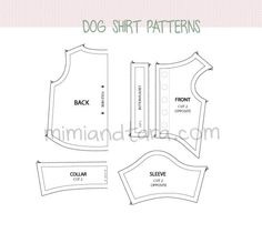 Dog Dresses Patterns Free | patterns below you can see a preview of the patterns