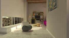 Modern design #interieur #ontwerp #leolux #pallone #gietvloer #betonlook #moooi #design
