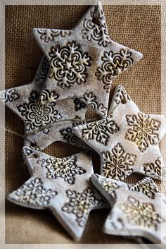 Salt Dough Star