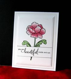 TLC596 You Are Beautiful by catluvr2 - Cards and Paper Crafts at Splitcoaststampers