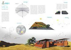 Galeria de Resultados do concurso estudantil de arquitetura bioclimática da IX Bienal José Miguel Aroztegui / Abrigos de Emergência - 16