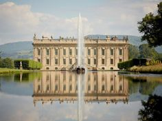 Chatsworth House, other wise known as pemberley for those who have seen the Keira knightly pride and prejudice!