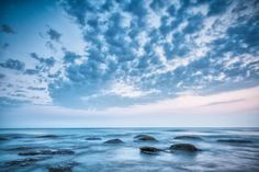 Nieuw in mijn Werk aan de Muur shop: Blauwe lucht