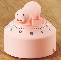 Small Talking Kitchen Timers- Pig