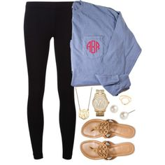 Back To School - Preppy Lazy Outfit