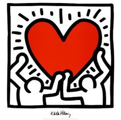 In Memory of Keith Haring; the king of 80's Pop Art #HappyBirthday #Pinterest