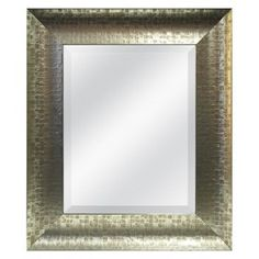 Mosaic Mirror - Champagne 22.5x24.5 : Target Mobile