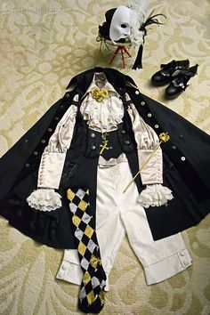 My Love Burns For You with the Intensity of a Thousand Suns Coord ~ AKA Phantom of the Opera Coord AKA An Ambulance Should Follow Me Around In the Sun Cause I'm Going To Get a Heatstroke When I Wear This To The Houston BBQ Manly Meat Event Coord