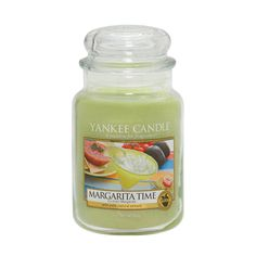Margarita Time - Fragrances - Yankee Candle - Summer 2014  Decently strong through, especially for a fruity scent. Love this scent!