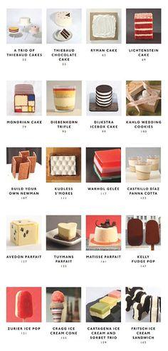 Desserts modernes Art: De Mondrian Gâteau à Matisse Parfait | Pickings du cerveau