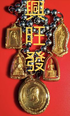 TOP Tiers amulets solid gold