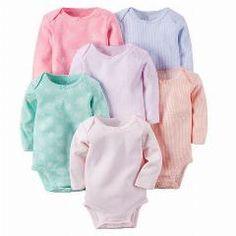 [ 41% OFF ] 6Pcs/lot Spring Autumn Long Sleeve 6Piece Of Set Original Kids Bebes Baby Boy Girl Clothes Set Newborn Bodysuit Kids Clothing