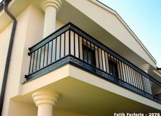 Shri Ram Steel Craft offered Wrought Iron Balcony Railing at nationwide. If you want then you can install wrought iron balcony at your home. Save time and money on wrought iron balcony, wrought iron r Steel Railing Design, Iron Stair Railing, Staircase Railings, Staircase Design, Deck Railings, Stair Design, Wrought Iron Railings, Balcony Grill Design, Balcony Railing Design