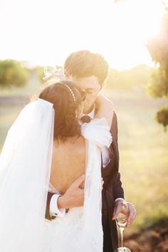 Coastal Italian wedding | Photos by Studio A Q | Read more -  http://www.100layercake.com/blog/?p=71055