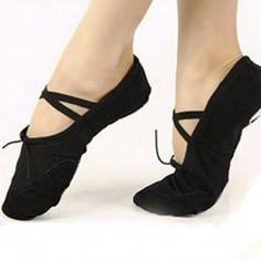 Baletní/taneční boty, piškoty, cvičky, špičky černé