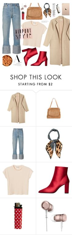 """Airport Style"" by mell-m ❤ liked on Polyvore featuring Mara Hoffman, The Row, RE/DONE, Dolce&Gabbana, Monki, MANGO, Garance Doré, airportstyle and polyvorecontest"