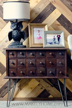 Create Custom Pieces of Furniture with Easy to Install Hairpin Legs