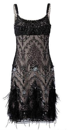 Collette Dinnigan dress.