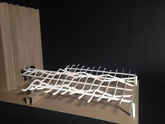 Hunt Library Canopy: Final Model #kerrianfrance #48105-S15