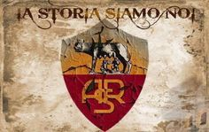 Roma Football Team Logos, As Roma, Porsche Logo, Flags, Game, Football Pics, Football Soccer, National Flag, Gaming
