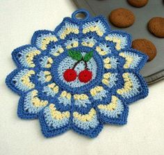 Is there a pattern for this cute potholder??