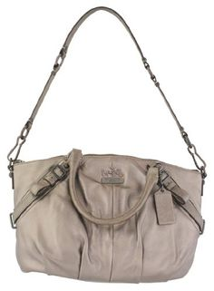 Coach Madison Leather Sophia Convertible Shoulder Bag Purse 15960 Bronze yes please!