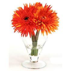 Distinctive Designs Silk Arrangement in Small Vase
