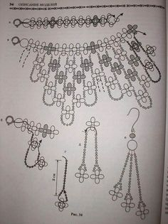 Diy Necklace Patterns, Beaded Jewelry Patterns, Beading Patterns, Beaded Beads, Beads And Wire, Diy Jewelry Tutorials, Beading Tutorials, Bead Jewellery, Seed Bead Jewelry