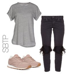 """Untitled #17"" by ttiwha on Polyvore featuring Reebok, One Teaspoon, Étoile Isabel Marant and ripped"