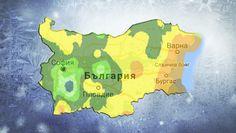 Карта на сланите по региони в България и света