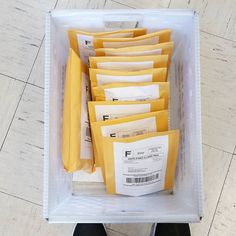 More orders going out today! Woo hoo! #etsy #happymail