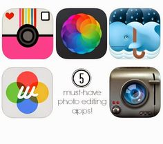 5 must-have photo editing apps Photography Lessons, Photography Camera, Iphone Photography, Mobile Photography, Iphone Photo Editor App, Cool Photo Effects, Best Photo Editor, Instagram Photo Editing, Photography Illustration