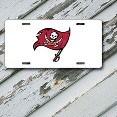 Tampa Bay Buccaneers Design on 6 x 12  Aluminum by EastCoastDyeSub