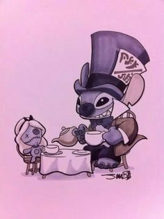 Mad hatter stitch