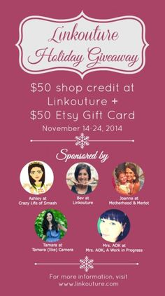 $100 worth of Etsy Giftcard's--Giveaway!