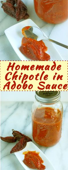 It's easy to make your own Chipotles in Adobo Sauce using either store-bought or homemade Chipotle Peppers</a>.