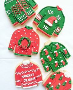 rx online What's Christmas without ugly Christmas sweaters? 🎄 [CookieCutterKingdom … What's Christmas without ugly Christmas sweaters? What Is Christmas, Christmas Goodies, Christmas Treats, Christmas Baking, Christmas Outfits, Christmas Kitchen, Holiday Baking, Christmas Time, Christmas Cookie Cutters