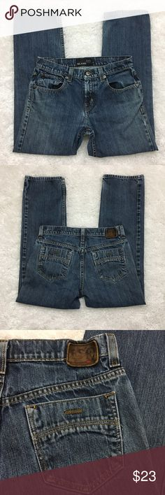"""RSQ Men's Amsterdam Relaxed Fit Jeans, 29x30 RSQ Amsterdam relaxed fit jeans.  Fabric is 100% cotton. Machine washable.  Size 29 x 30 Waist laid flat 16"""" Rise 10"""" Seam 27.5"""" Approximate only.  Excellent condition.  No stains or holes.  Freshly washed.  Stored in a smoke and pet free household.  Please see all pictures in details or ask any questions to avoid return.  Check out my store for other items on sale! RSQ Jeans Relaxed"""