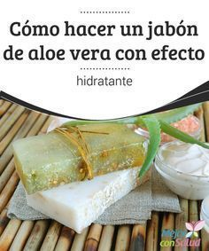 Homemade aloe vera soap is a good alternative to commercial soaps. It helps maintain your skin's natural moisture while keeping it clean of impurities. Homemade Beauty Products, Soap Recipes, Natural Cosmetics, Home Made Soap, Soap Making, Diy Beauty, Aloe Vera, Lotion, Handmade Soaps