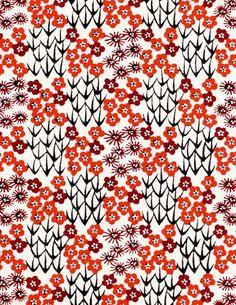 꽃 동양 패턴
