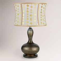 One of my favorite discoveries at WorldMarket.com: Amelia Table Lamp. Jason really likes this one!