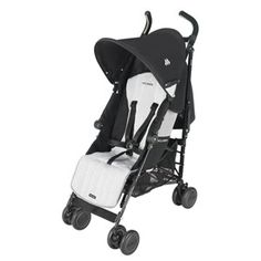 Maclaren Quest Black/Silver - available in store and online at #FabBabyGear #Maclaren